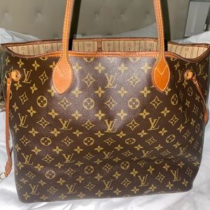 AUTHENTIC MONOGRAM LV NEVERFULL GM size!!